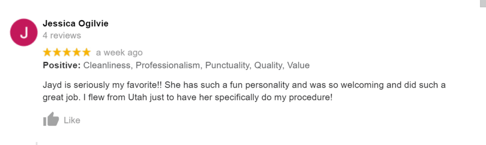 Jessica's Review